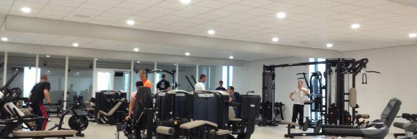 airconditioning sportschool
